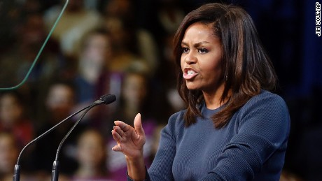 Michelle Obama: The Clinton surrogate that could finish off Trump