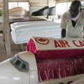 ghana undertaker plane