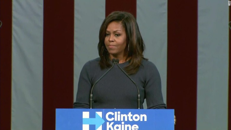 Michelle Obama Trump locker room talk bts_00025810