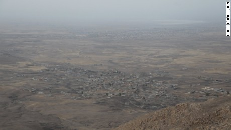 The deserted villages of Bazgirtan and Ba-Sakhra, the last two villages before Mosul