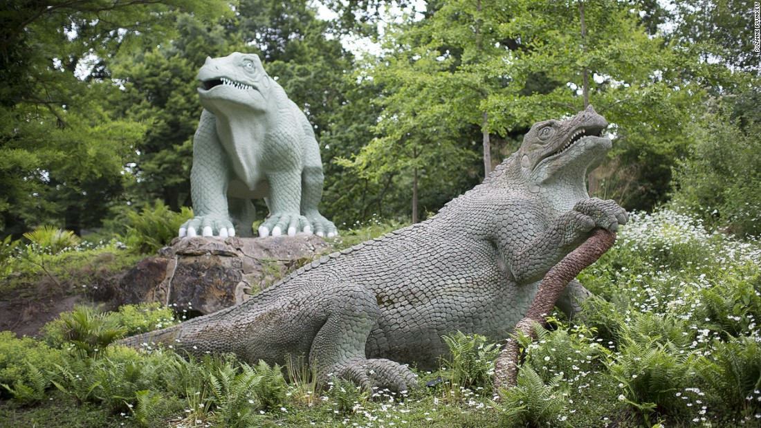 "Paleontology was in its infancy when Benjamin Waterhouse Hawkins created the world's first ever <a href=""http://cpdinosaurs.org/visitthedinosaurs"" target=""_blank"">dinosaur sculptures</a> at Crystal Palace back in the 1850s. Let's say they were a good first effort."