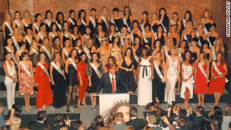 Ex-contestant: Trump inspected each woman before pageant