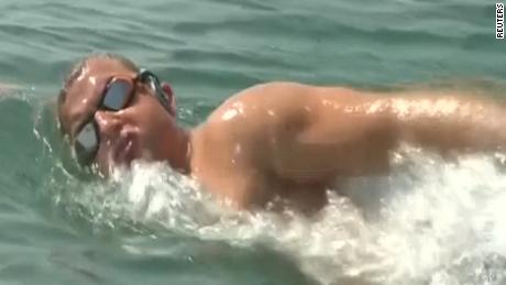 Ben Hooper will attempt to swim the Atlantic Ocean