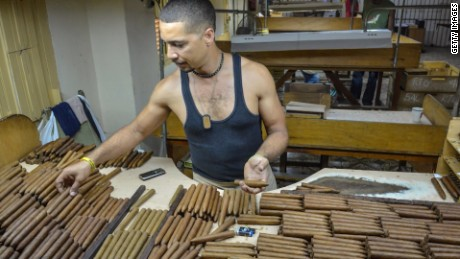 Cuban cigars and rum coming to America