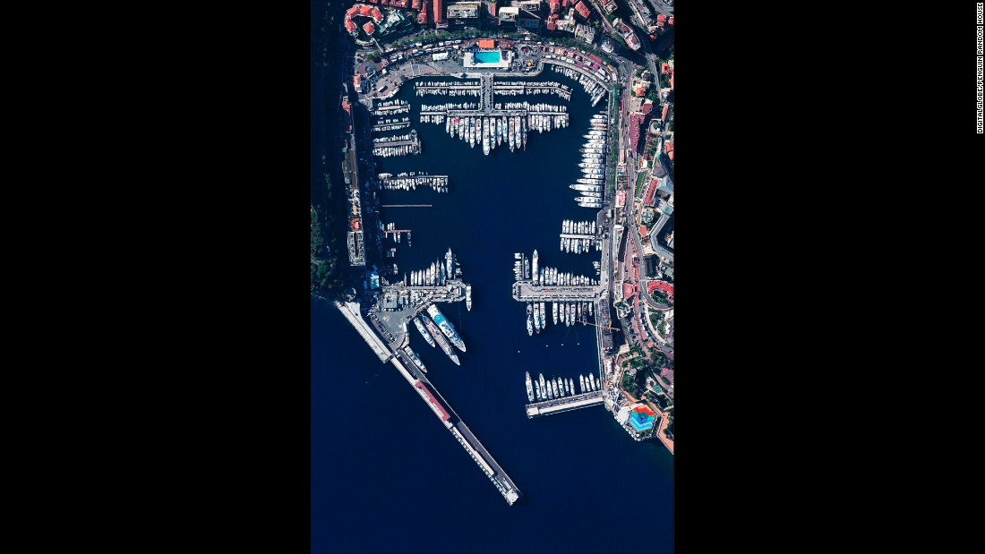 Port Hercules, the only deepwater port in Monaco -- a tiny principality just south of France near the Mediterranean coastline -- provides anchorage for up to 700 vessels. The area of the port is 0.78 square miles and comprises approximately 8% of the entire country.