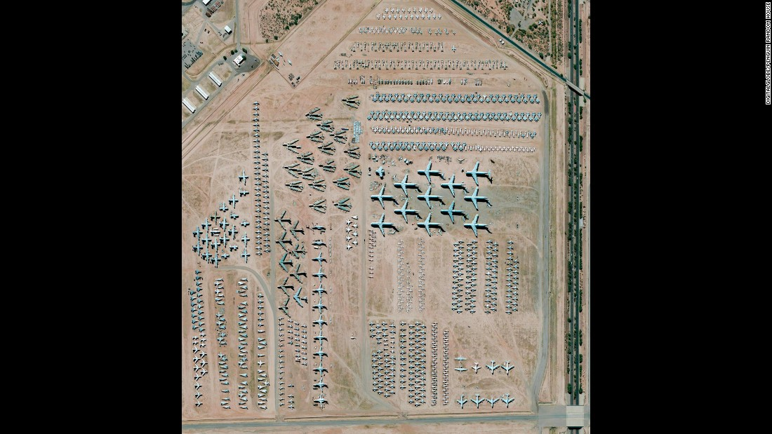 The largest aircraft storage and preservation facility in the world is located at Davis-Monthan Air Force Base in Tucson, Arizona. The aircraft bone yard -- run by the 309th Aerospace Maintenance and Regeneration Group -- contains more than 4,400 retired American military and government aircraft.