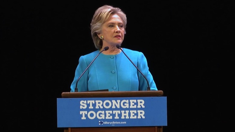 Clinton on Trump: America is better than this