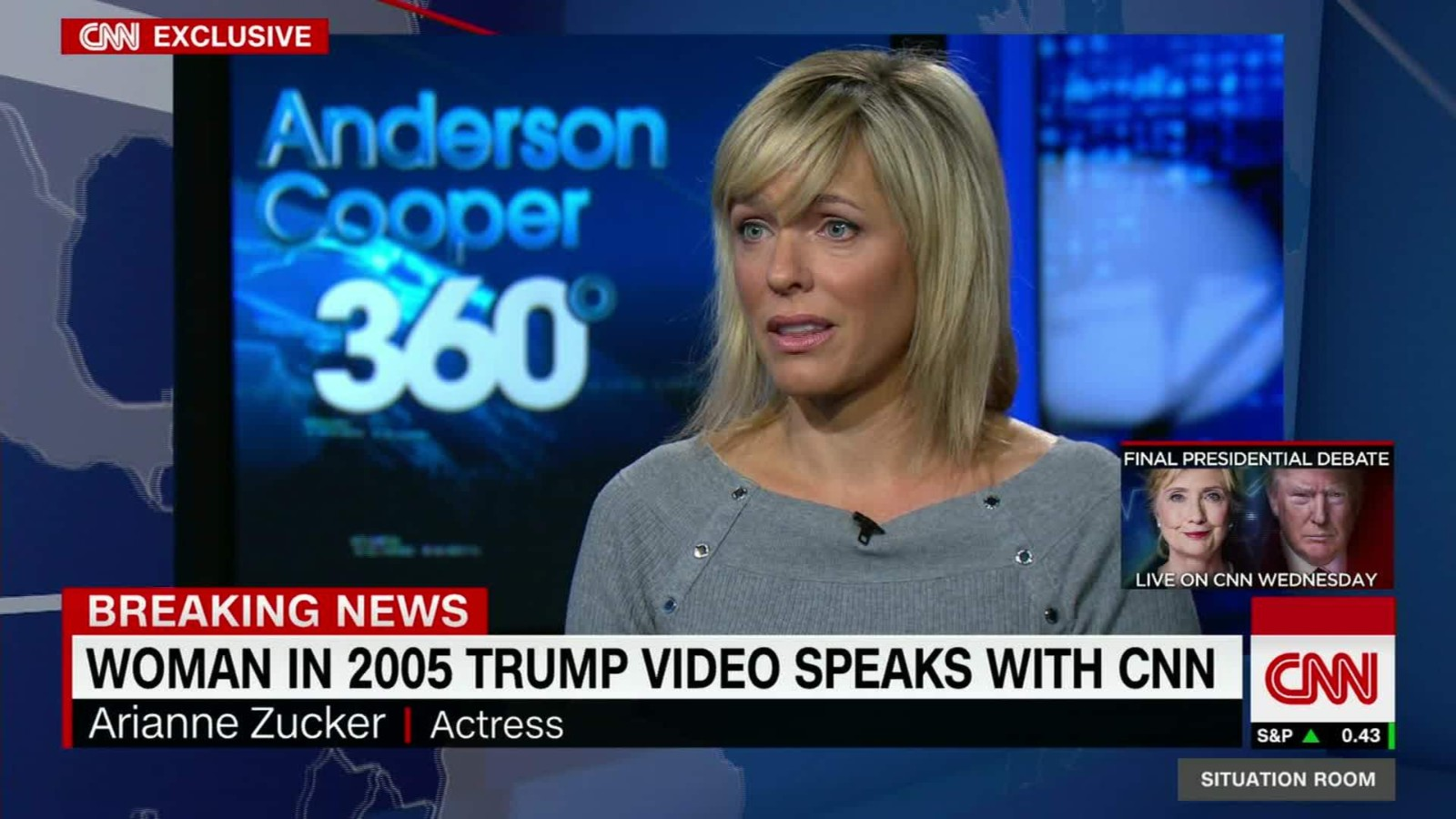 Woman From 2005 Trump Tape Talks To Cnn . Cnn Situation Room Live Stream ... Part 19
