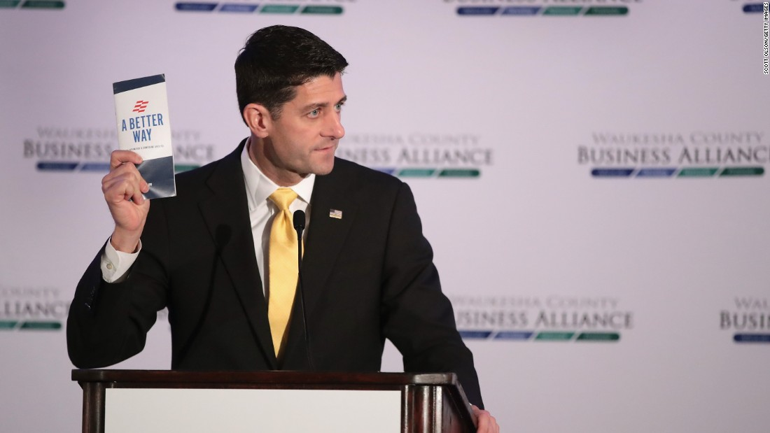 "House Speaker Paul Ryan speaks at the Waukesha County Business Alliance luncheon in Brookfield, Wisconsin, on Thursday, October 13. Ryan recently told his colleagues in the House that he <a href=""http://www.cnn.com/2016/10/10/politics/paul-ryan-said-he-wont-defend-donald-trump/"" target=""_blank"">would no longer defend</a> or campaign for Republican presidential nominee Donald Trump."