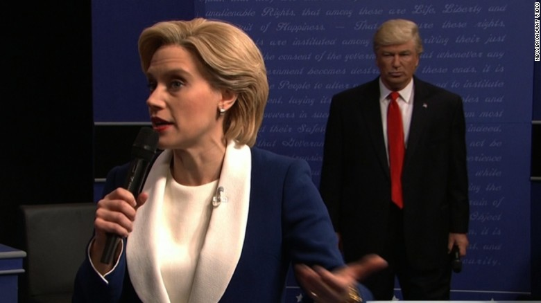 See 'SNL' spoof awkward debate moments