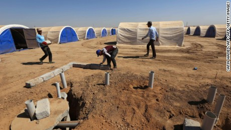 Aid groups warn of Mosul humanitarian crisis
