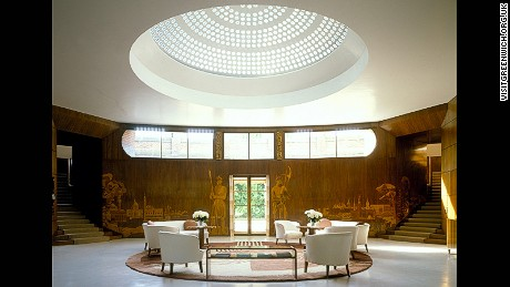 Eltham Palace: 70 minutes from Oxford Circus. (Nearest station: Eltham)