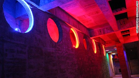 Nuclear spelunking in Chongqing: A colorful experience.