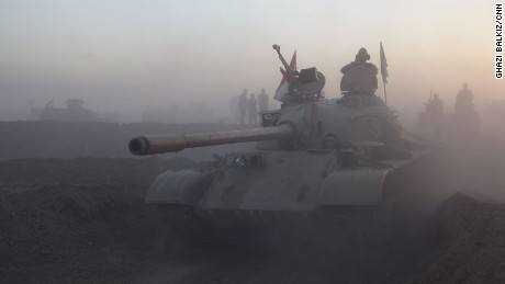 Battle to liberate Mosul begins