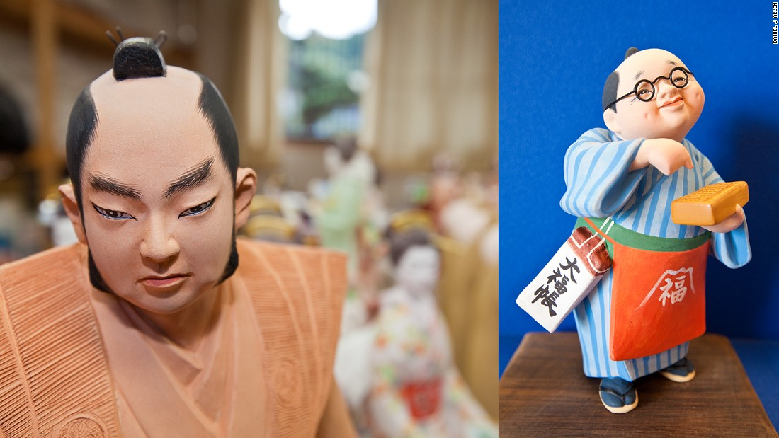 "Despite the limited number of doll craftsmen now based in Fukuoka, Takeyoshi is optimistic about the future of ningyo-making. ""Among many Japanese people there has been a resurgence in interest in our cultural heritage,"" he says. ""More and more people are interested in buying dolls. Some craftsmen are also innovating with styles and characters. This keeps things fresh and fashionable.""<br />"
