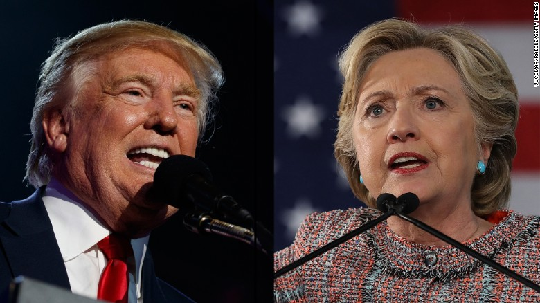 Clinton still leads but 3 states, key district move toward Trump