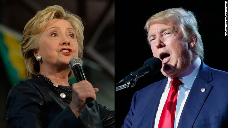 New poll: Clinton leading Trump by double-digits