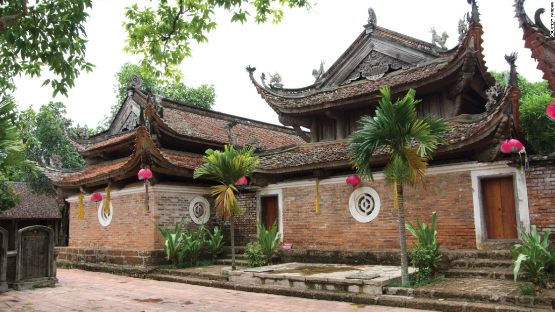The cruise includes a stop in Viet Tri, home to the Tay Phuong Pagoda.