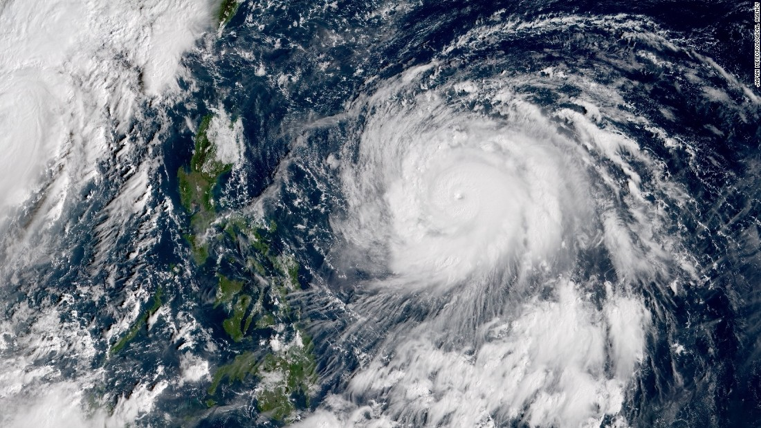 Typhoon Haima: Philippines hit by second storm in a week - CNN.com