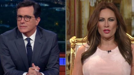 melania trump stephen colbert daily hit newday_00000611