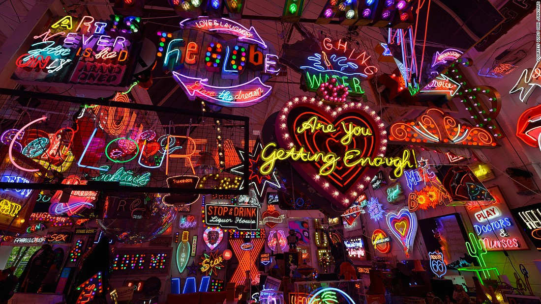 "<a href=""http://www.godsownjunkyard.co.uk"" target=""_blank"">God's Own Junkyard</a>, the former workshop of legendary signmaker Chris Bracey has been maintained by his family and is open to the public for sales, sign hire or general ogling."