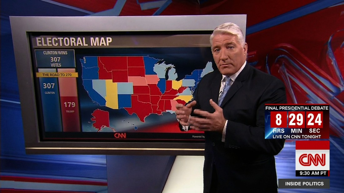 Road To CNNs General Election Map CNNPolitics - Stream live us election map