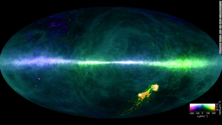 milky way map astronomers unveil new galaxy chart cnn