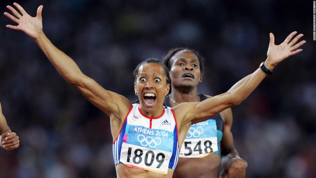 Fellow British athlete, Kelly Holmes, who also won two gold medals, used to self harm. She cut herself with a pair of scissors for each day she was out after injuring her calf a year before her triumphant Olympics in Athens in 2004.