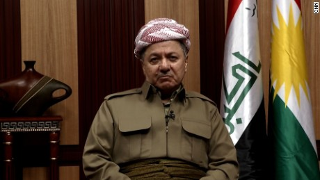Massoud Barzani  Iraqi Kurdish President