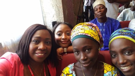 Nigeria Chibok Girls Reunited