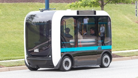 This talking, self-driving bus is coming