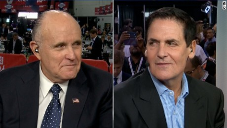 Rudy Giuliani vs. Mark Cuban