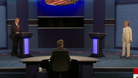 third presidential debate trump clinton no handshake sot 01_00000226