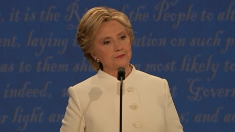 Clinton on abortions: Trump is using scare rhetoric