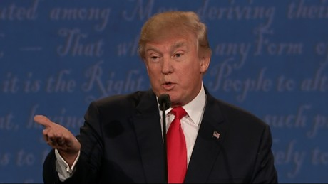 Trump: Clinton such a nasty woman