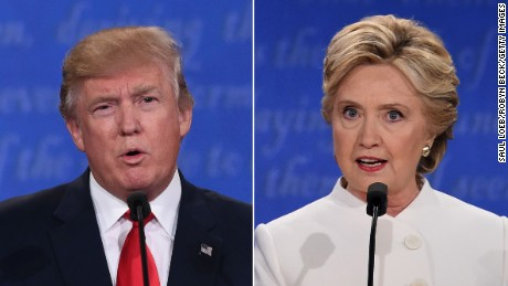 Trump, Clinton spar over DNC hacks
