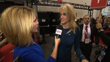 Trump campaign manager walks away from Dana Bash mid-interview