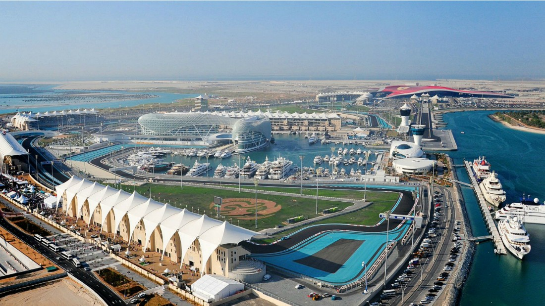 The 2016 Abu Dhabi Grand Prix is taking place at the end of November. Photo: Yas Marina Circuit.
