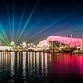laser show yas marina abu dhabi