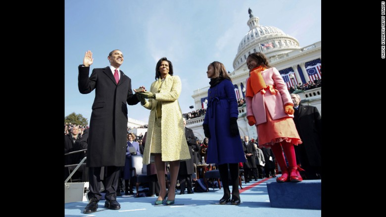 "Barack Obama is sworn in as the 44th President of the United States on January 20, 2009. Click through the gallery to see 100 moments from his administration. CNN Films presents<a href=""http://www.cnn.com/shows/last-days-of-the-obama-white-house"" target=""_blank""> ""The End: Inside the Last Days of the Obama White House"" </a>Wednesday at 9P ET/PT."