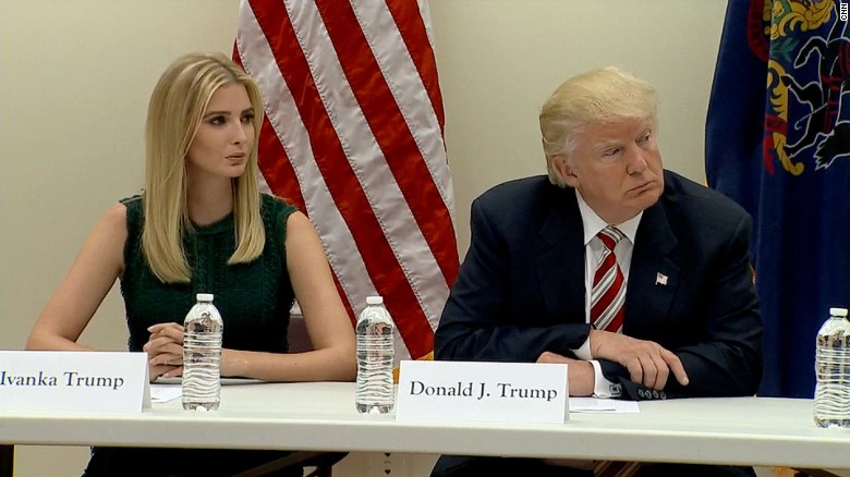 Ivanka Trump's evolving role in the campaign