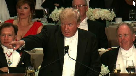 Donald Trump dinner