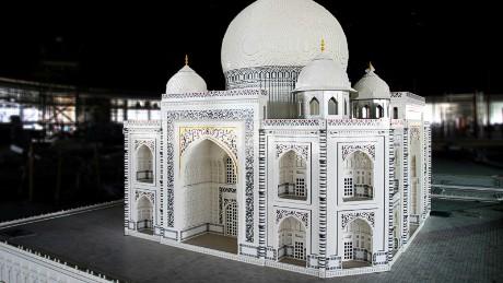 Legoland Dubai is home to a miniature Taj Mahal.