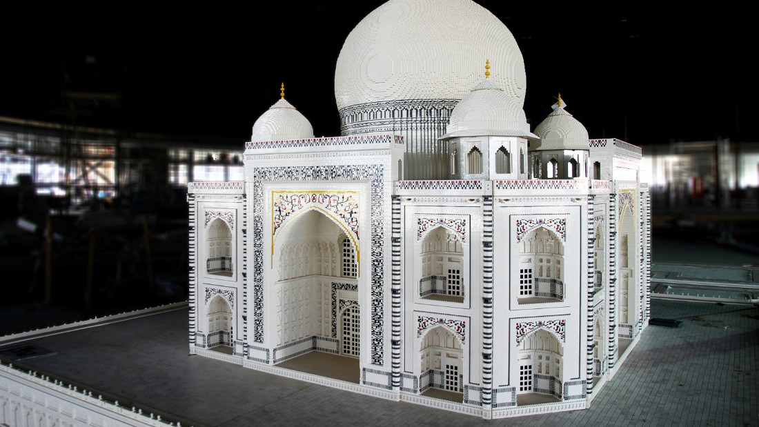 Legoland Dubai hosts a collection of miniature Lego palaces such as the Taj Mahal, pictured. (Picture credit: Dubai Parks and Resorts)