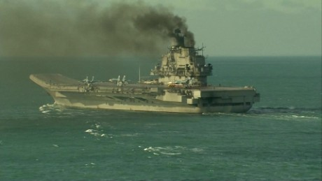 Russian warships pass by England on way to Syria