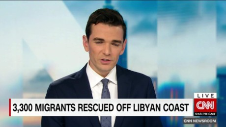 exp 3,300 Migrants Rescued off of Libyan Coast_00002001