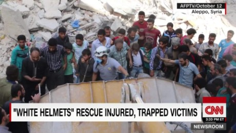 Saving lives in Syria: the White Helmets