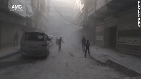 Bombs fall on Aleppo as ceasefire ends