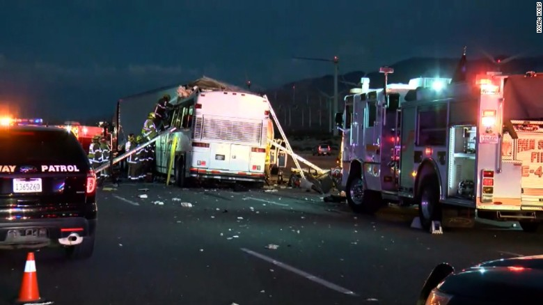 Police: Multiple fatalities in tour bus crash