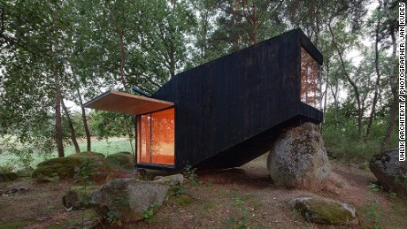 Forest Retreat, Czech Republic, by  Uhlik Architekti.